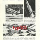 DOUGLAS - 1964 - JETLINER MOON LINER SPACE CENTER ... ON THE RISE PRINT AD