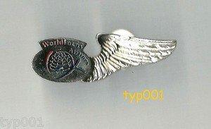 WORLD FOCUS AIRLINES 2005-8 - STEWARDESS WINGS - DEFUNCT TURKISH AIRLINE