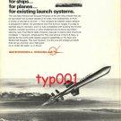MCDONNELL DOUGLAS - 1973 - HARPOON MISSILE PRINT AD