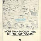 THOMSON CSF - 1973 - NAVAIDS PRINT AD