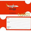PEGASUS AIRLINES 2009 - BAGGAGE TAG - TURKISH