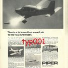 PIPER 1972 - NEW CHEROKEES PRINT AD