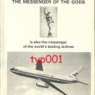 DASSAULT - 1972 - MERCURE JET THE MESSENGER OF GODS PRINT AD