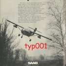 SAAB SCANIA - 1972 - STRIKE LIGHT AIRCRAFT PRINT AD