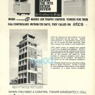 ATCS - 1973 AIRPORT CONTROL TOWERS PRINT AD