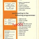 MEVETEX - 1973 - AVIATION EQUIPMENTS PRINT AD