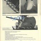 OTO MELARA 1972 - TANKS & MISSILES PRINT AD - ITALY
