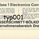MESSERSCHMITT -1972 - LBA ELECTRONICS CONTROLLER PRINT AD