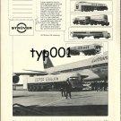STRÜVER - 1973 AIRPORT TANK TRUCKS PRINT AD - LUFTHANSA