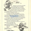 KLEBER - 1973 AIRCRAFT TIRES PRINT AD