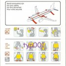 TURKISH AIRLINES - 2008 - AIRBUS A320-200 SAFETY CARD - 02