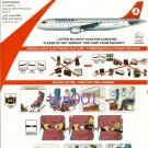 TURKISH AIRLINES - AIRBUS A320-200 SAFETY CARD - 03
