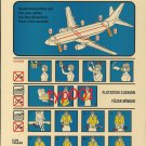 TURKISH AIRLINES - BOEING B737-400 SAFETY CARD - 02