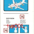 TURKISH AIRLINES - 2006 - BOEING B737-800 SAFETY CARD - 03