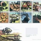 UK - G.BRITAIN - 2005 FARM ANIMALS FDC