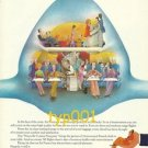 AIR FRANCE - 1975 - FIRST CLASS STILL MEANS FIRST CLASS PRINT AD - BLACHON