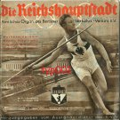 BERLIN 1936 OLYMPICS PROGRAM - REICHSHAUPTSTADT - CAPITAL BOOKLET - SUPER RARE