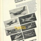 SIAI MARCHETTI - 1973 - AIRCRAFTS FROM ITALY PRINT AD