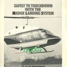 MEL AVIONICS - 1973 - SAFELY TO TOUCHDOWN WITH THE MADGE LANDING SYSTEM PRINT AD