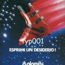 DOLOMITE - 1984  MAKE A WISH - SKI BOOTS PRINT AD