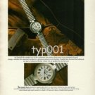 DUNHILL - 1987 - ALFRED DUNHILL'S PHILOSOPY - THE DUNHILL WATCH PRINT AD