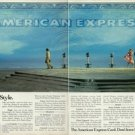 AMERICAN EXPRESS - 1984   SHOPPING IN STYLE  PRINT AD