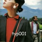 BELVEST - 1984 MEN'S FASHION PRINT AD - LADY IN JACKET -  PHOTO BY MAURO MAMONE