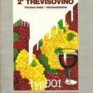 TREVISIAN WINES - 1984  2ND TREVISOVINO WINE FAIR PRINT AD
