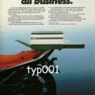 MITA  - 1984 -  PERSONAL SIZED BUT ALL BUSINESS PHOTOCOPIERS PRINT AD