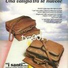 I SANTI - 1984 A SUITCASE IN THE CLOUDS PRINT AD