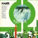 ROVATTI  POMPE - 1984 CENTRIFUGAL PUMPS FOR AGRICULTURE AND INDUSTRY PRINT AD