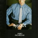 FABIO INGHIRAMI - 1987 THE ITALIAN SHIRT FASHION PRINT AD