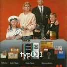 MAXELL - 1987 THE FAMILY OF EXCELLENCE PRINT AD