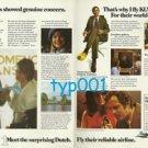KLM - 1975 - MR GIANNIS SHOWED GENUINE CONCERN PRINT AD