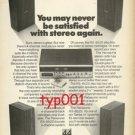 PANASONIC - 1974 - DISCRETE 4 CHANNEL QUADRAPHONIC SYSTEM PRINT AD