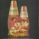 MICHELOB - 1976 NEW MICH 7 - HOW TO WIND UP WHEN YOU ARE BOTH UNWINDING PRINT AD