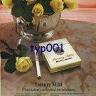 BENSON & HEDGES - 1976 - PURE LUXURY PRINT AD - 02