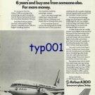 AIRBUS INDUSTRIE - 1976 - BUY AIRBUS NOW OR WAIT 6 YEARS PRINT AD - KOREAN AIR