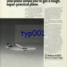 AIRBUS INDUSTRIE - 1976 - TOUGH CUSTOMER LUFTHANSA PREFER A300 PRINT AD