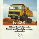 MERCEDES BENZ - 1976 QUALITY AND SAFETY - THE SOUND INVESTMENT  PRINT AD