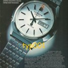 CITIZEN - 1975 - THE CRYSTON WINKER WATCH PRINT AD