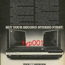 SONY - 1976 - BUY YOUR SECOND STEREO FIRST PRINT AD