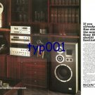 SONY - 1976 - NEW SONY SYSTEM SHOULD FASCINATE YOU PRINT AD