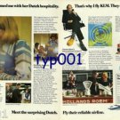 KLM - 1976 - TINEKE CHARMED ME WITH HER DUTCH HOSPITALITY PRINT AD