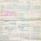 AIR FRANCE - 1953 CARGO DISPATCH TO ISTANBUL TURKEY DOCUMENT