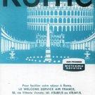 AIR FRANCE - 1962 ROME ITALY BROCHURE