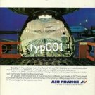 AIR FRANCE - 1979 - LA CAPACITE PRINT AD - 1