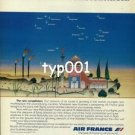 AIR FRANCE - 1979 - LA NOUVELLE CONSTELLATION PRINT AD - 2
