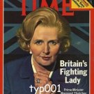 TIME INT'L 1979 - MARGARET THATCHER BRITAIN'S FIGHTING LADY COVER