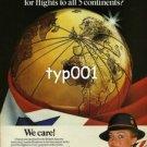BRITISH AIRWAYS - 1979 - LONDON HEATHROW THE BEST AIRPORT PRINT AD